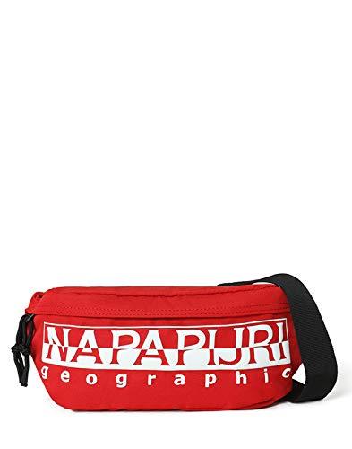 Napapijri Happy Wb Re - Borsa a tracolla, 36 cm, Rosso accesso (Rosso) - NP0A4E9X