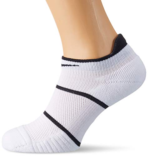 Nike Herren Court Essentials No-Show Socken, White/Black, S