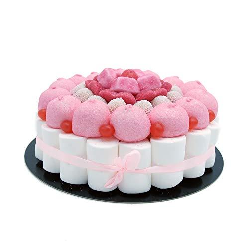 Tarta Golosinas - Pink 22 cm