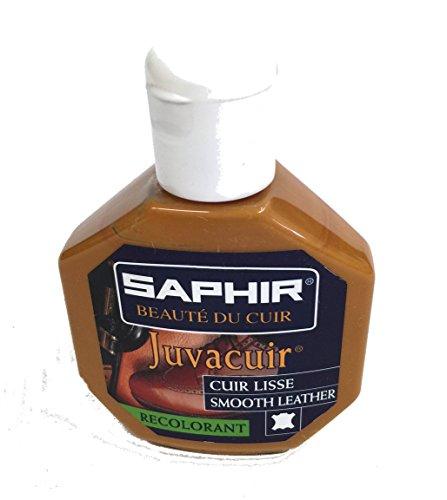 Juvacuir Saphir Schuhpflege/Lederpflege/Schuhcreme, FAUVE 19, 75 ml