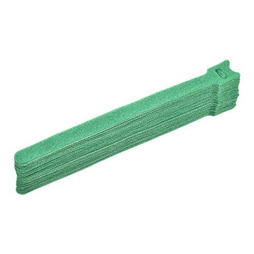 YeVhear - Sobres de cordón reutilizables de 8 pulgadas, correa ajustable verde 30 unidades