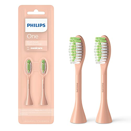 Philips One by Sonicare 2pk Brush Heads, Shimmer BH1022/05