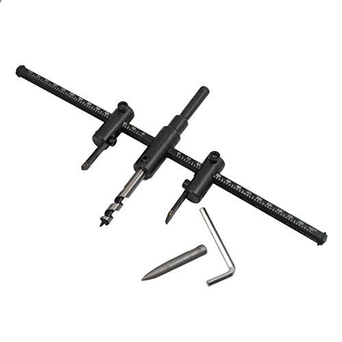 120/200/300mm Adjustable Circle Hole Saw Cutter Drill Bit (300mm)