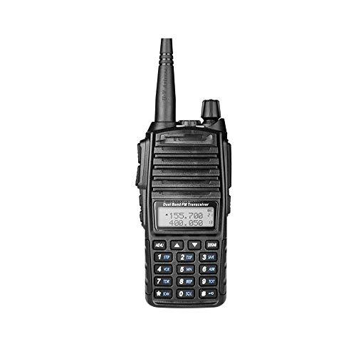 Z-Color 8W 10 KM de Largo Alcance de Gran Alcance walkie Talkie portátil CB VHF/UHF Radio de Dos vías, 6000mAh de Gran Capacidad de la batería, la luz LED, for la construcción del Sitio