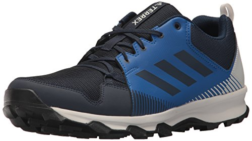 adidas outdoor Men's Terrex Tracerocker Trail Running Shoe, col. Navy/col. Navy/Grey one, 10 D US