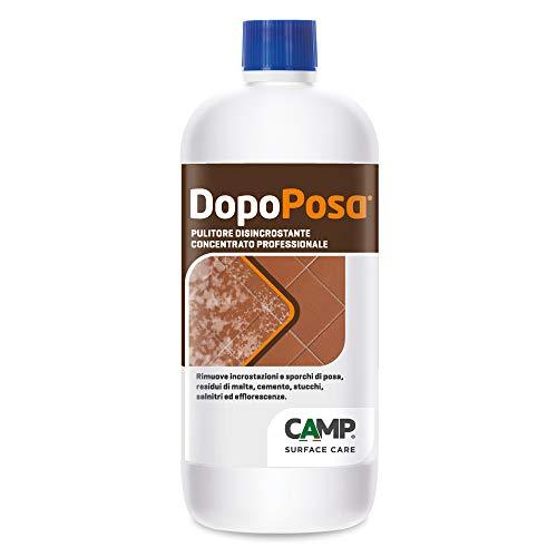 Camp DOPOPOSA, Pulitore disincrostante per lavaggio dopo-posa, Per cotto, gres porcellanato, ceramiche e pietre resistenti agli acidi