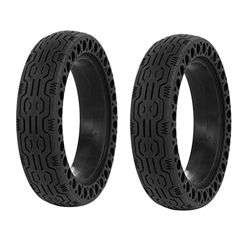 DEYIOU Scooter Solid Tires 8.5 Inches, 2 Pieces Replacement Wheels for Xiaomi Mi m365/GOTRAX GXL V2 Electric Scooter