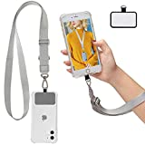 Universal Cell Phone Lanyard with Adjustable Strap - Phone Lanyard for Around The Neck, Compatible with iPhone, Samsung and Other Smartphones-Multipurpose, Can Be Used for Badges and Key Too