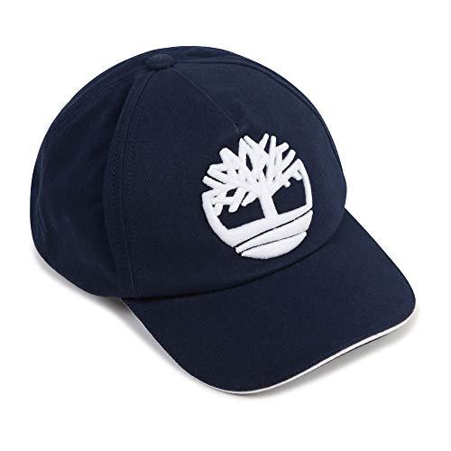 Timberland - Gorra de algodón para niño azul añil 56