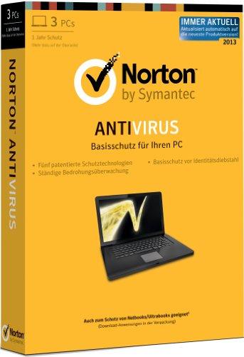 Norton Antivirus 2013 - 3 PCs [import allemand]