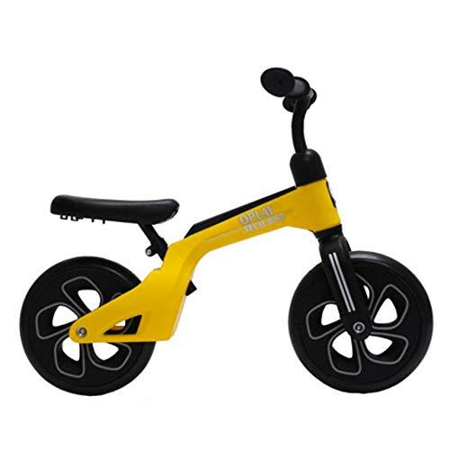 QPLAY Bicicleta de Equilibrio sin Pedales Tech Balance Trike Yellow