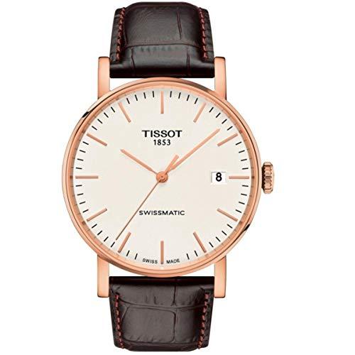 Tissot Everytime Swissmatic Herren-Armbanduhr 40mm Leder T109.407.36.031.00