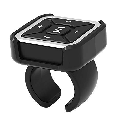IPOTCH Adaptador de Audio Bluetooth, Control Remoto del Volante de Audio del...