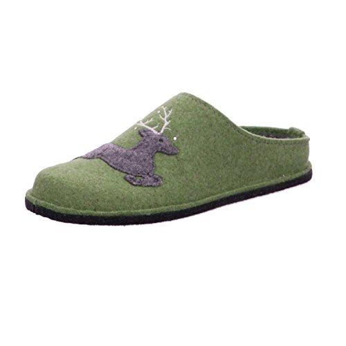ARA Damen Cosy 1529960 Pantoffeln, Grün (Frog 07), 40 EU