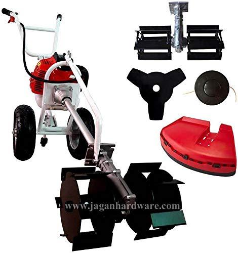 BKR® Hand Push Petrol Brush Cutter with Tiller Attachment (BKR-CGHP-530)