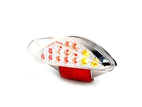 Rücklicht Klarglas Blinker LED BGM Yamaha Aerox MBK Nitro 50ccm