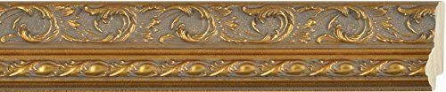 Picture Frame Moulding Wood Ranking TOP15 100ft Bundle - Traditional Antique 2021 autumn and winter new