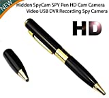 Yash Electronics Pen Camera with Video Audio Recording HD Voice Quality Business Portable