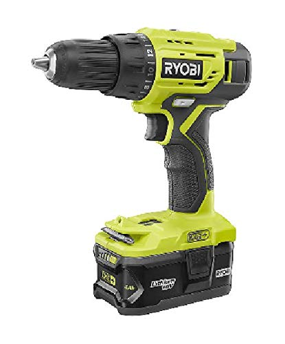 Ryobi P1818 18-Volt ONE+ Lithium-Ion Cordless 4-Tool Combo Kit with (2) Batteries, 18-Volt Charger, and Bag