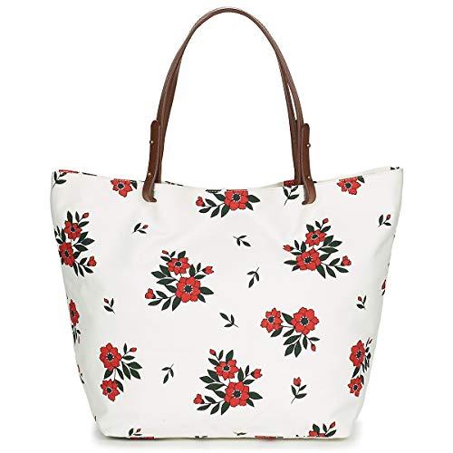 Petite Mendigote CLEA Tote Bag/Borsa Shopping Donne Bianco - Unica - Tote Bag/Borsa Shopping