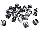 Includes 25 Matching D6 Dice - Perfect for your Warhammer army, RPG campaigns, or other tabletop games Quality Control: Every dice is examined to ensure quality 16mm Sized Plastic Dice
