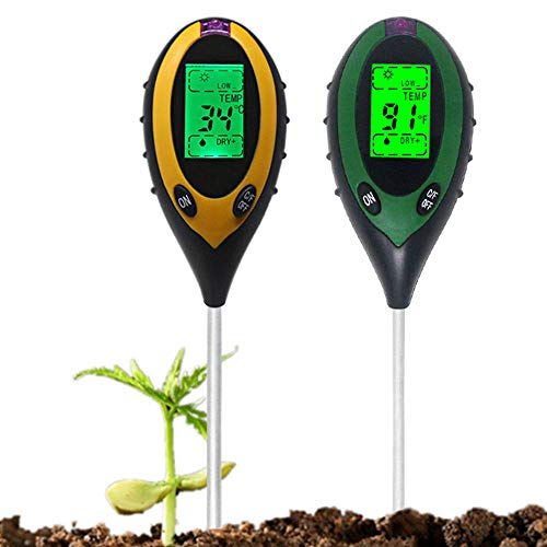 Learn More About EXDJ Multiple Use 4 in 1 Digital Soil PH Meter Moisture Thermometer Sunlight Temper...