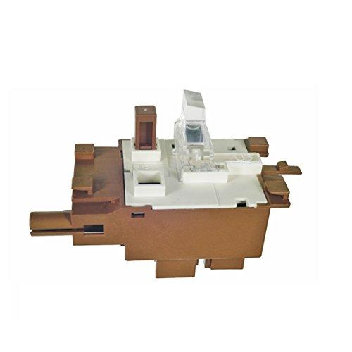 Tastenschalter Schalter Taste Ein/Aus 1fach Waschmaschine Waschautomat Original Siemens Neff Bosch 00171021 171021 auch Neckermann Lloyds Quelle Novamatic für WFF WFK GrandPrix Logica 1000 1400