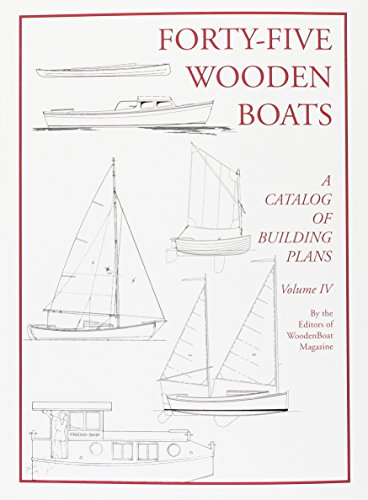 Forty-Five Wooden Boats: A Catalog of Study Plans
