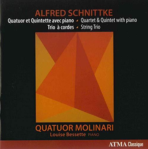 Schnittke: Quinteto para piano, cuarteto para piano