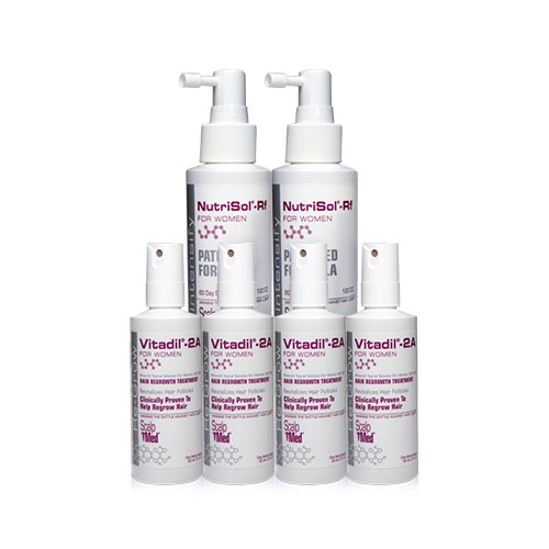Scalp Med Women's 4-month Re-growth Hair Kit, Un-scented,1 Count