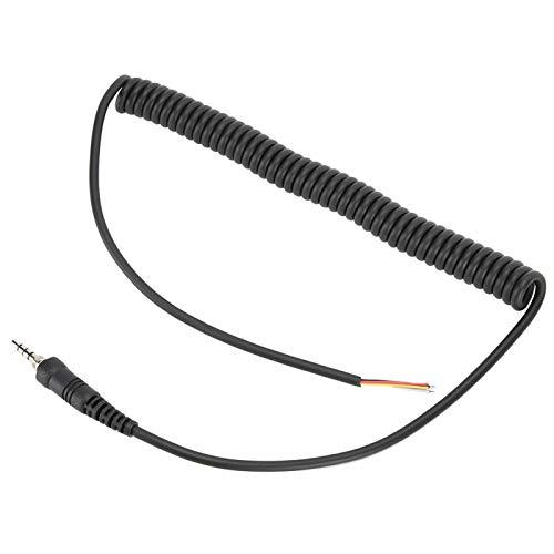 DAUERHAFT Cable de micrófono Cable de micrófono confiable Instalación Duradera y fácil, para micrófono FT-6R / 7R, para micrófono de automóvil, para Vx-120, para Vx-127