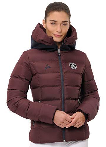 SPOOKS Damen Jacke, Kapuzenjacke, Damenjacke, Herbstjacke - Debbie Jacket Bordeaux M