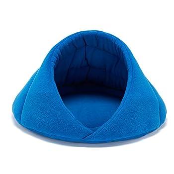 xihan123 Coussin pour Chat Coussin Apaisant Chat Panier Chat Moelleux Durable Abri Chat pour Propre Espace De Couchage Lapin Chaton Chiot Animal De Compagnie Blue,XS