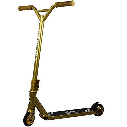 Cox Swain | X 385 | Step | Stuntstep | Goudkleurig | 10 cm wielen | Aluminium