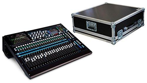 Allen & Heath qu de 24C mesa de mezclas Set con campana Case (24de...