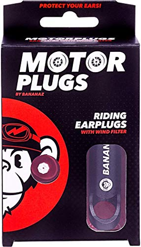 Bananazオートバイ専用イヤープロテクターThunderPlugsMotorplugs(モータープラグス)耳栓