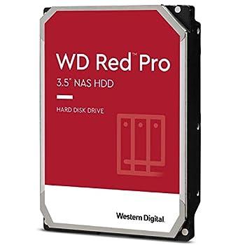 Western Digital 4TB WD Red Pro NAS Internal Hard Drive HDD - 7200 RPM SATA 6 Gb/s CMR 256 MB Cache 3.5  - WD4003FFBX