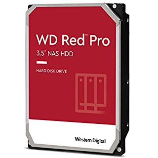 "Western Digital WD8003FFBX Red Pro 8TB 3.5"" NAS HDD SATA3 7200RPM 256MB Cache 24x7 NASware 3.0 CMR Tech 5yrs wty (B07D3N95GS) 