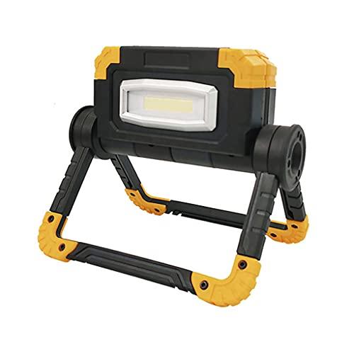yotijar Proyector Portátil Luz de Trabajo Exterior Linterna de Obra para