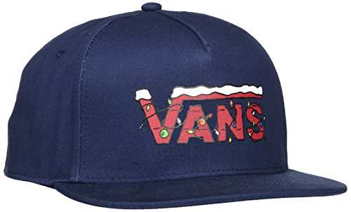 Vans_Apparel Herren X Snapback Baseball Cap, Blau (Peanuts Christmas), Einheitsgröße (Herstellergröße: OS)