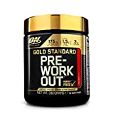 Optimum Nutrition Gold Standard Pre Workout Energy Drink Powder with Creatine Monohydrate, Beta Alanine, Caffeine and Vitamin B Complex, Fruit Punch, 30 Servings, 330 g