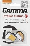 Gamma String Things Bier, Shrimp Sushi Dämpfer Im Doppelpack-Orange, Weiß Schlägerzubehör, Multi