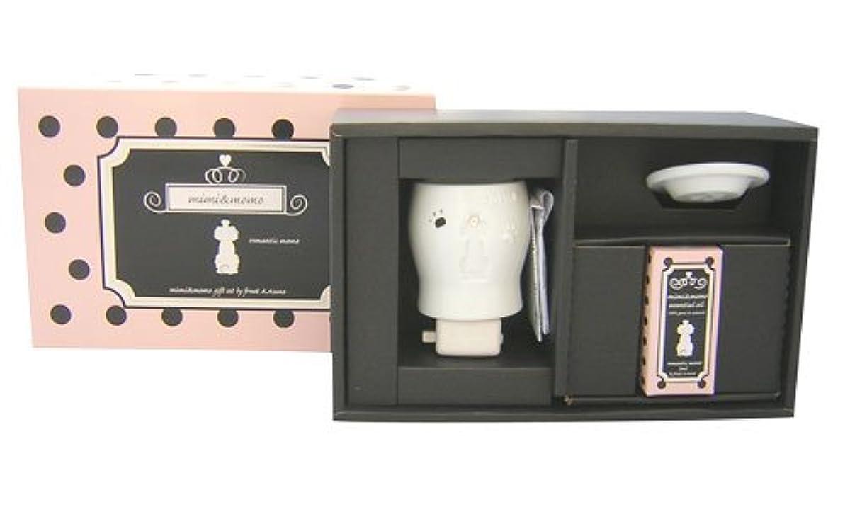装置フォーク受け入れたフリート ミミ&モモ ロマンティックモモ オイル1本セット