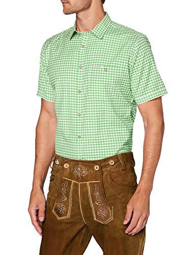Stockerpoint Herren Hemd Renko3 Trachtenhemd, Grün (Pistazie Pistazie), XXX-Large (Herstellergröße: 3XL)
