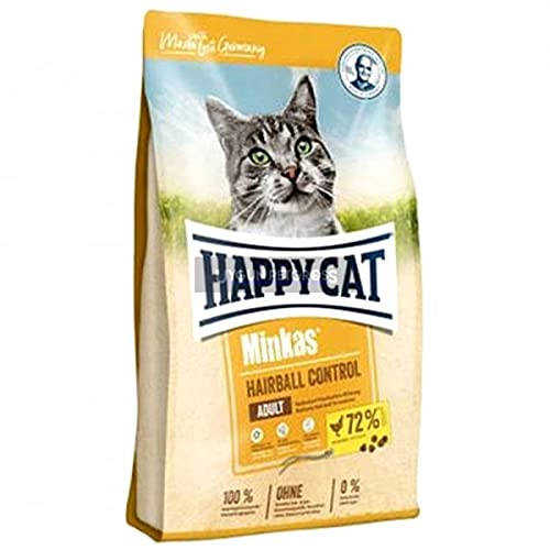 Happy Cat Minkas Hairball Control Geflügel, 10 kg