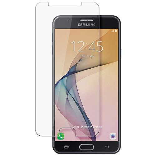 disGuard Schutzfolie für Samsung Galaxy On7 Prime [2 Stück] Kristall-Klar, Bildschirmschutzfolie, Glasfolie, Panzerglas-Folie, Bildschirmschutz, extrem Kratzfest, Schutz vor Kratzer, transparent