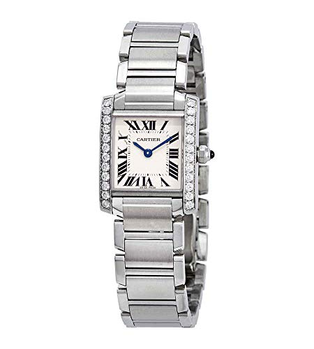 Cartier Tank Francaise Silver Dial Ladies Watch W4TA0008