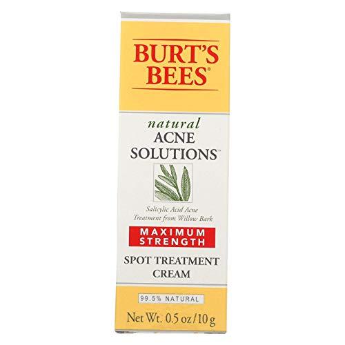 Burts Acne Spot Crm Max Size .5 Oz Burts Bee Acne Max Sport Cream 0.5oz