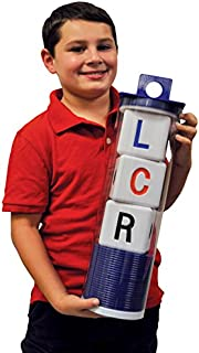 """LCR Big Left Center Right Dice Game - Indoor/Outdoor Classic 18"""" H"""