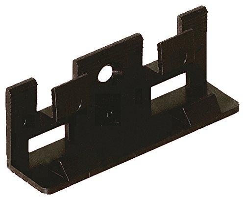Add2 Montageclipse für Sockelleisten Add2, 30 Stück im Paket, inklusive Schrauben und Dübel, einfache und schnelle Montage der Leisten für Laminatboden